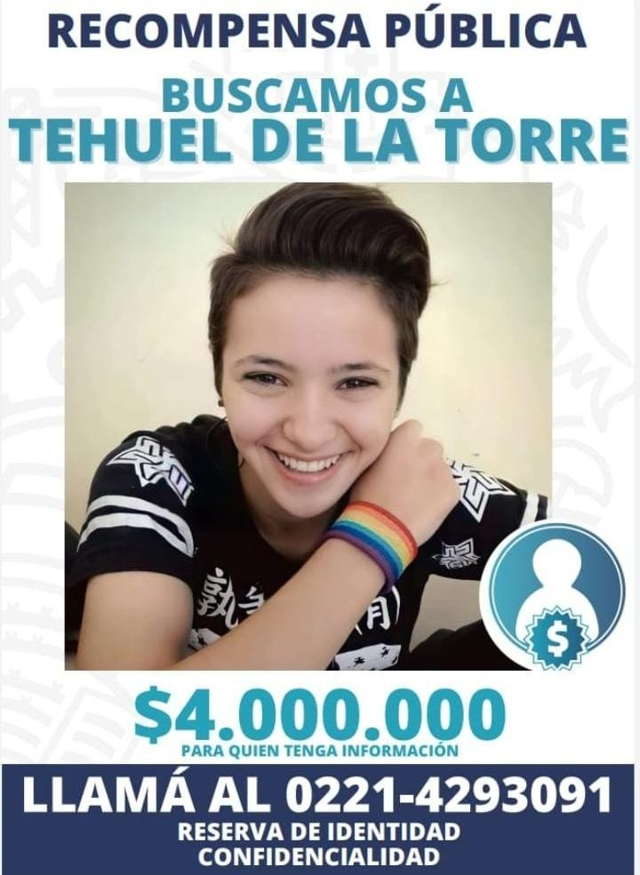 Cinco meses sin Tehuel: la decisión del Gobierno para conseguir pistas sobre el joven trans : Noticias de Argentina