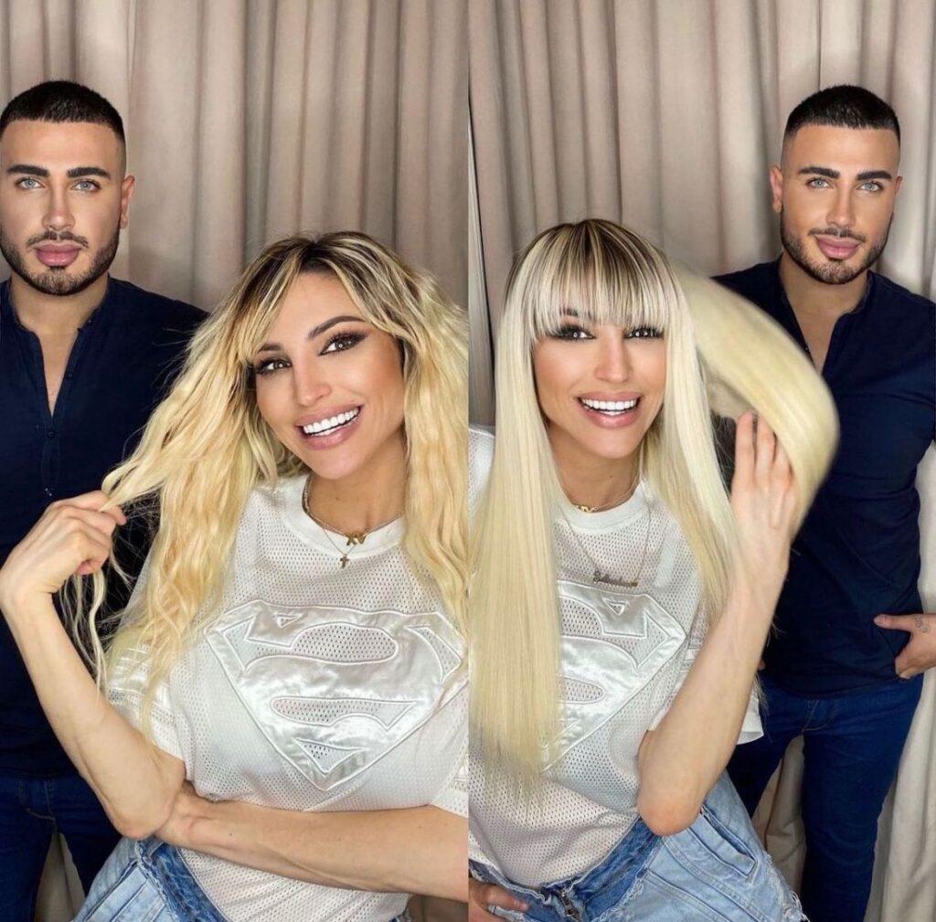 El impactante cambio de look de Vicky Xipolitakis